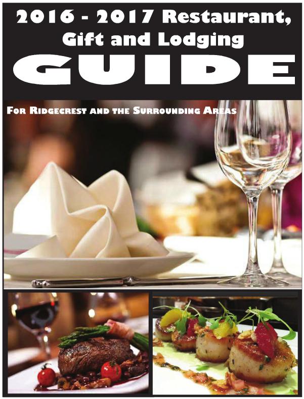 2016-2017 Restaurant Guide